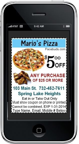 Marios Pizza mobile ---