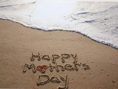 Happy Mother's Day beach