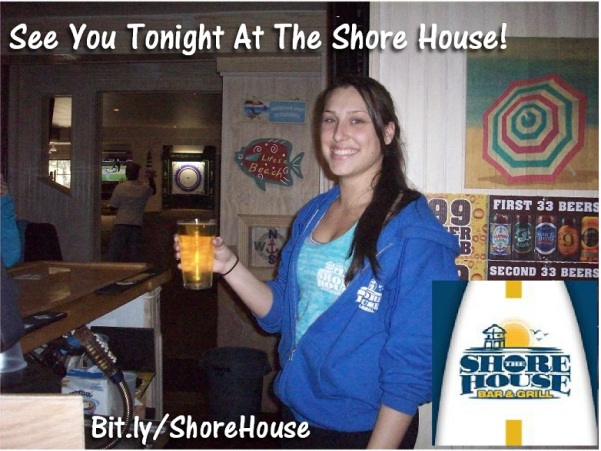 Saturday - Shore House - bartender dark hair 5-3-2014