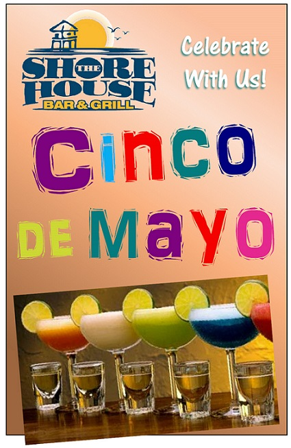 Shore House Cinco de Mayo poster 2014 ---